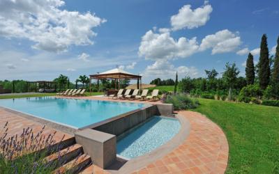 Villa Peccioli 5 Pool 11