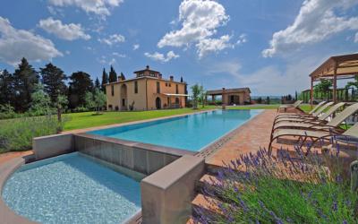 Villa Peccioli 5 Pool 12