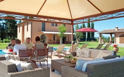Villa Peccioli 5 Terrasse 03