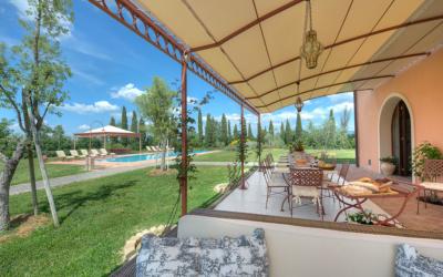 Villa Peccioli 5 Terrasse 04
