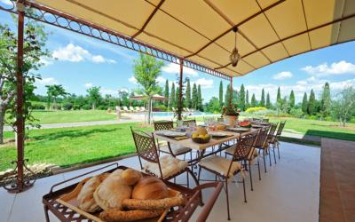 Villa Peccioli 5 Terrasse 06