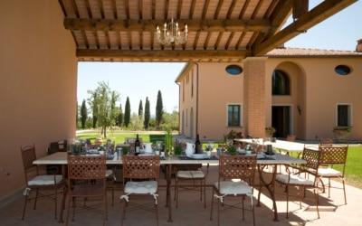 Villa Peccioli 5 Terrasse 09