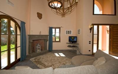 Villa Peccioli 5 Wohnraum 01