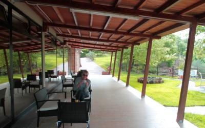 Wellness Residenz Sorano Terrasse 01