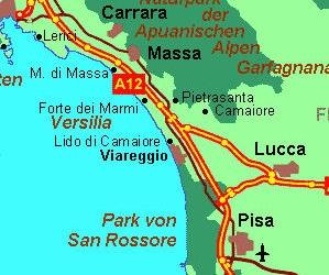Meer und Strände in der Toskana ~ Informationen