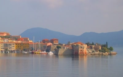 Ferienhäuser nah am Meer in der Toskana.