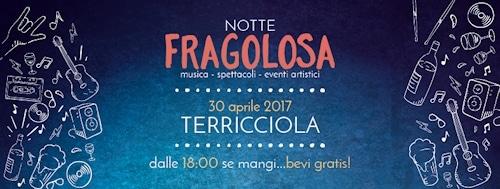 """Flyer der Notte Fragolosa"" © PROLOCO Terricciola"