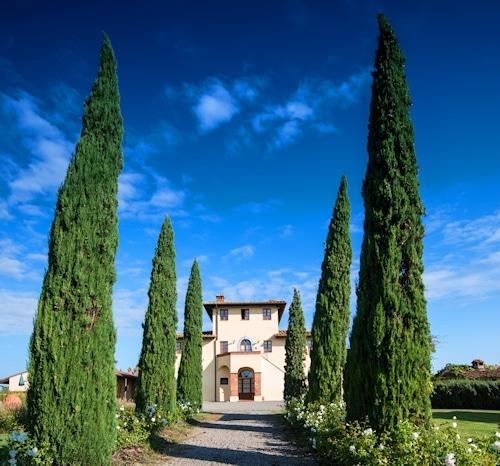 Urlaub im Weingut: Landgut Terricciola