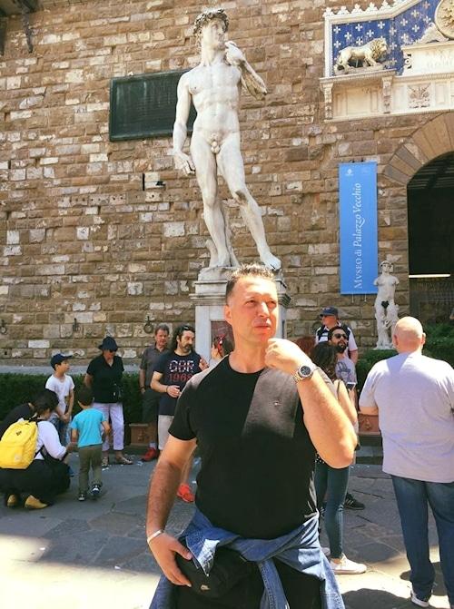 David von Michelangelo - Florenz