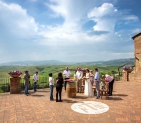 Hochzeit in Terricciola