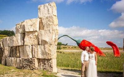 Hochzeit in der Toskana.