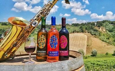Weinstraßen in der Toskana