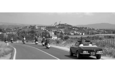 geführte Vespa Touren in der Toskana (1)
