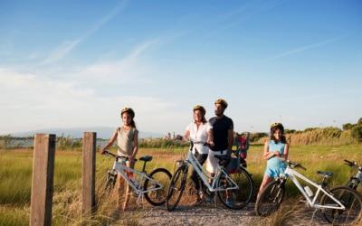 mit Fahhrädern durch die Toskana (2)