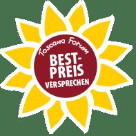 Toscana Forum Bestpreisversprechen Siegel