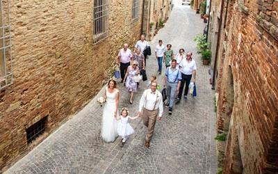 zu Fuß zum Dorf | Toscana Forum