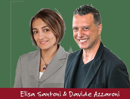 Elisa Santoni und Davide Azzaroni - Toskana-Experten