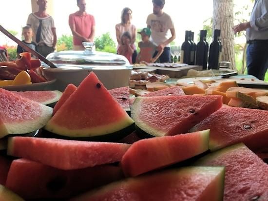 Weinprobe aus der Perspektive der Wassermelone © Toscana Forum