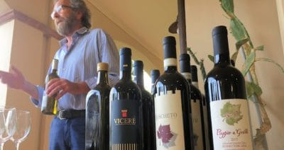 Der Biologe Giuseppe Mongelli und seine Weine © Toscana Forum