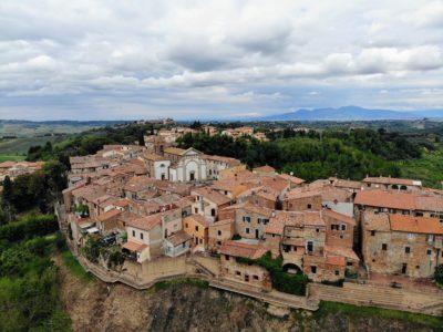 Terricciola in der Toskana