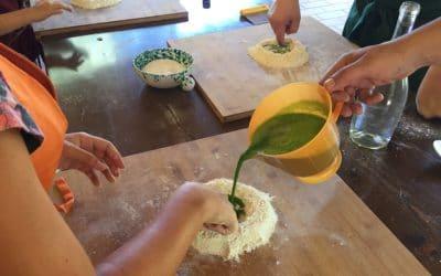 Bio-Kochkurs 15 ~ Nudelteig vorbereiten