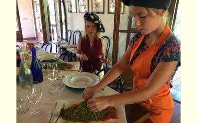 Bio-Kochkurs 20 ~ Spaghetti al Basilico mit Bio-Tomatensoße