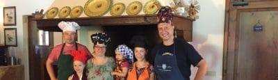 Kochkurs für Groß und Klein in der Toskana