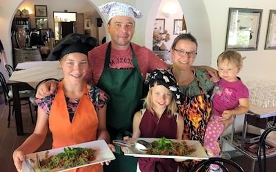 Toskana Kochkurs für Groß und Klein