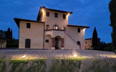 Landgut Terricciola Nachts (2)
