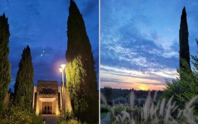 Landgut Terricciola Sonnenuntergang (6)